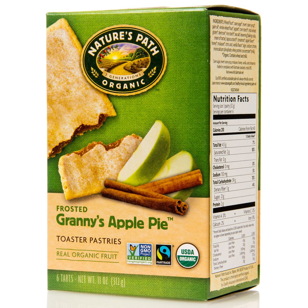 Nature S Path Toaster Pastries Apple Cinnamon Frosted