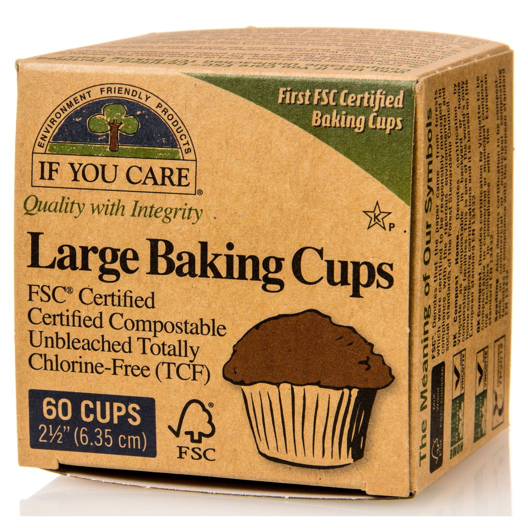 If you care large baking cups fsc certified 2 12 in azure 60 ct biocorpaavc Gallery