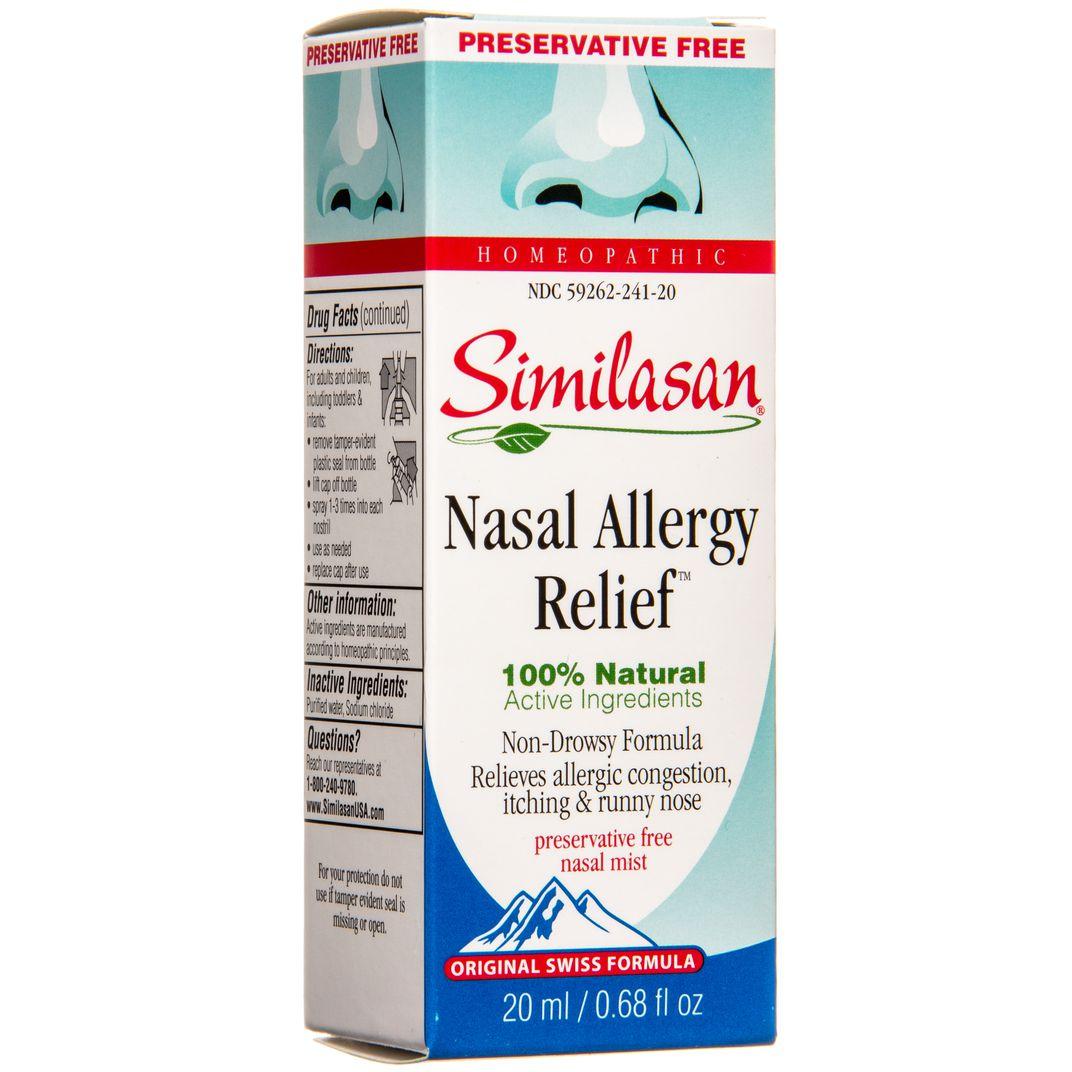 Similasan Nasal Allergy Relief Nasal Mist Azure Standard