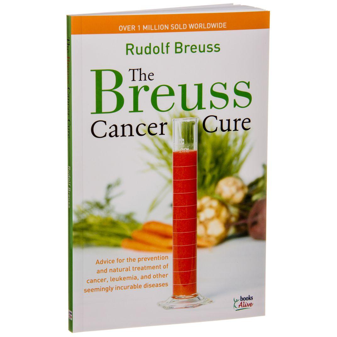 Books - The Breuss Cancer Cure - Azure Standard