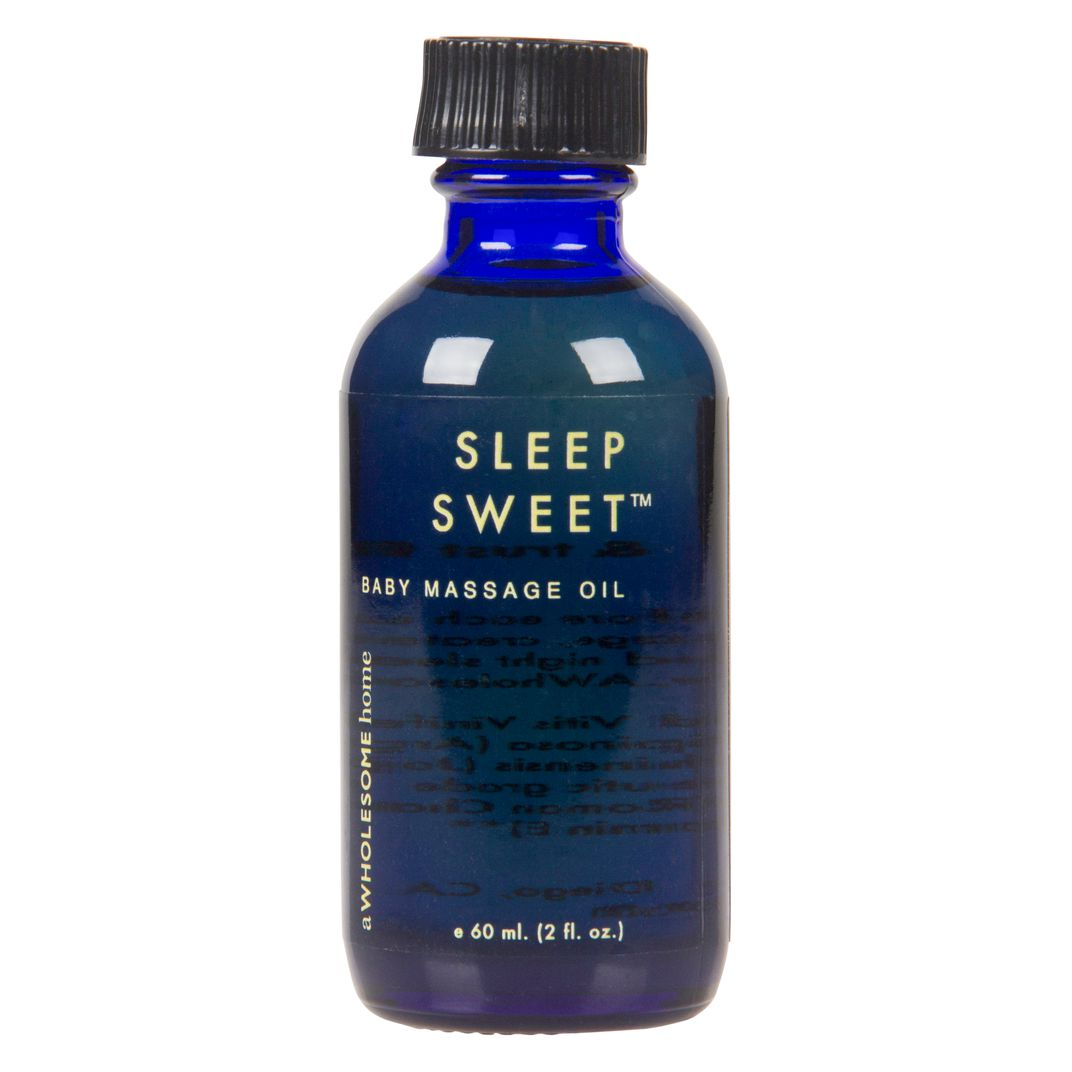 A Wholesome Home Sleep Sweet Baby Massage Oil Azure