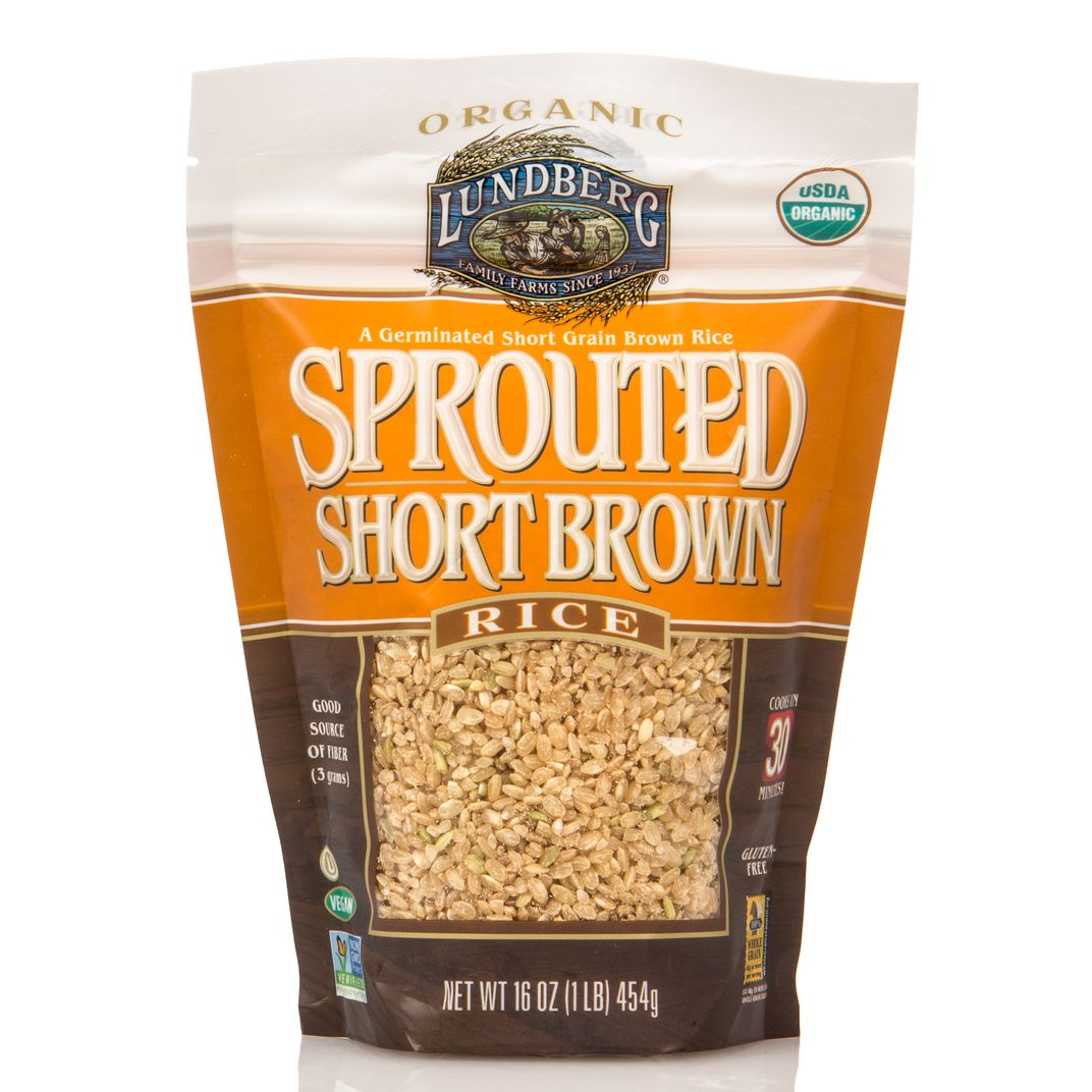 Lundberg - Rice, Sprouted, Short Brown, Organic - Azure ...