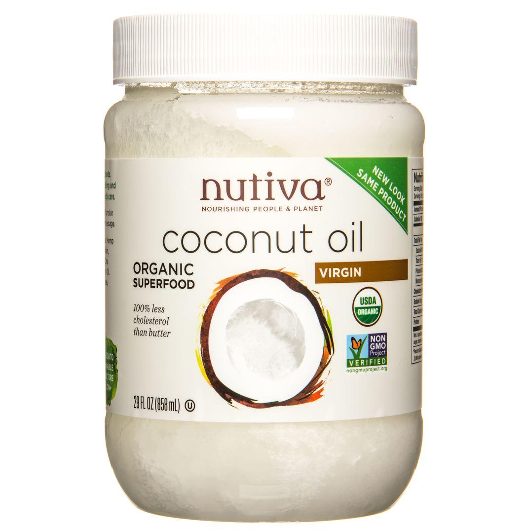 Nutiva - @@Coconut Oil, Virgin, Organic - Azure Standard
