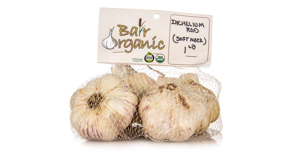 Bair Organics Seed Garlic Inchelium Softneck Organic Azure Standard