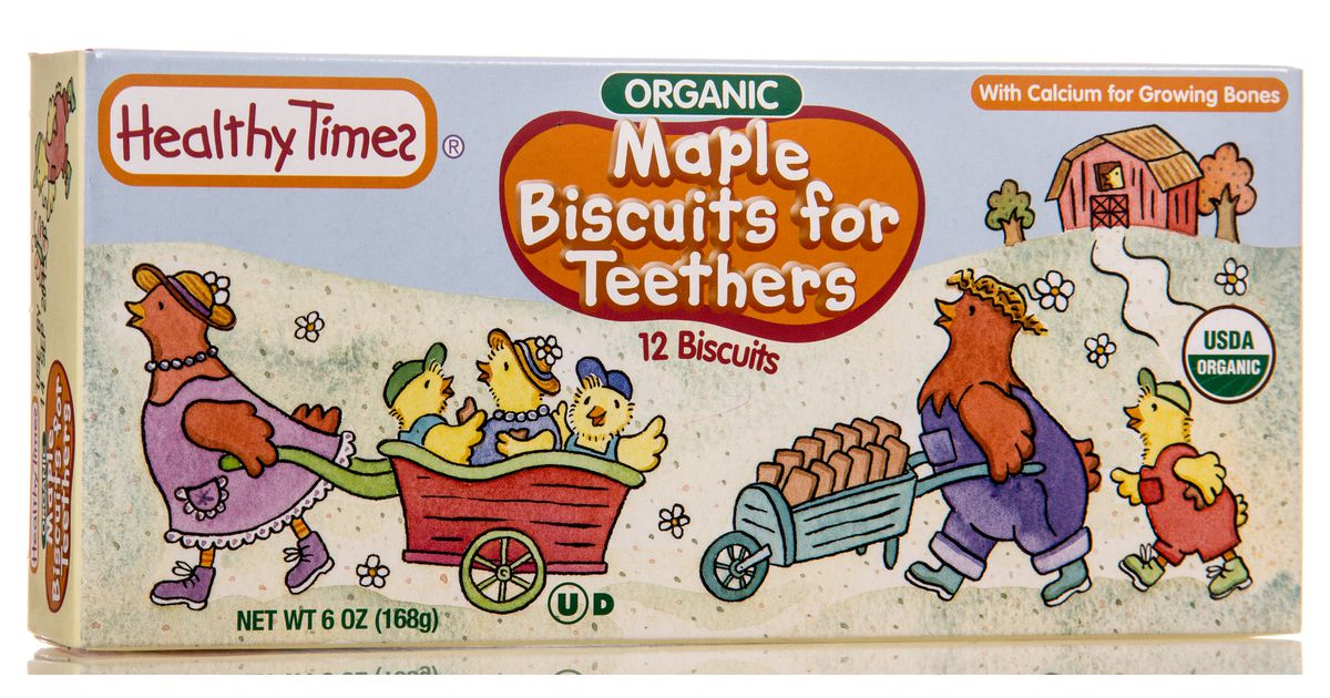 Healthy Times Maple Teeth Biscuits Organic Azure Standard