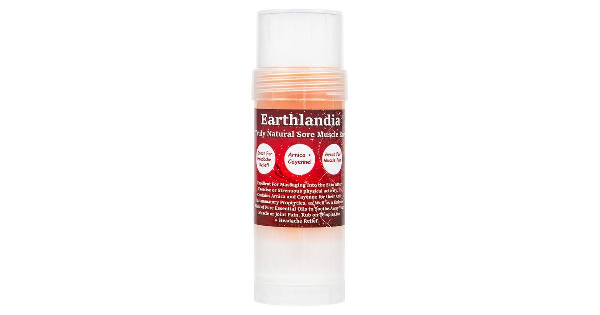 Earthlandia Sore Muscles Rub Stick Azure Standard