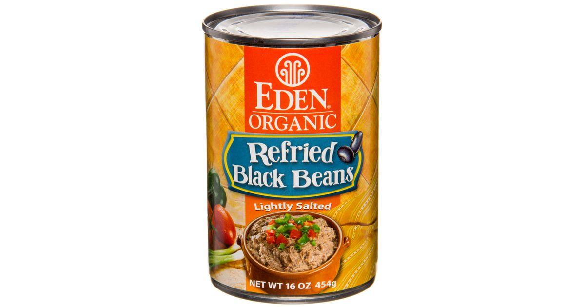 Eden Foods Refried Black Beans Organic Azure Standard