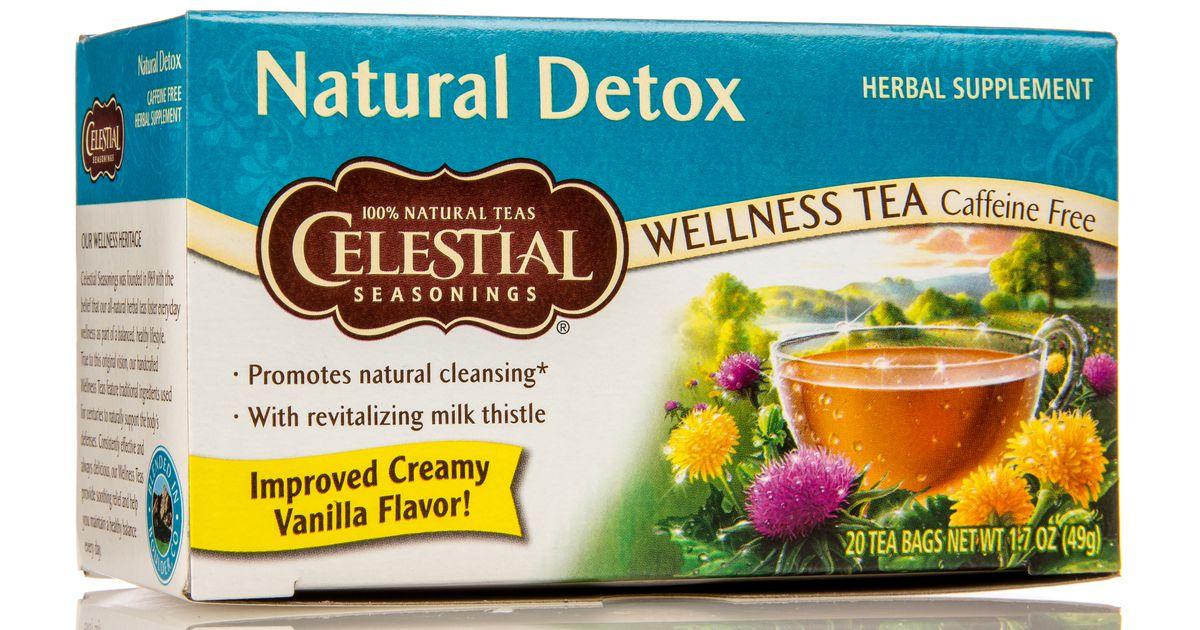 Celestial Seasonings Natural Detox Wellness Tea