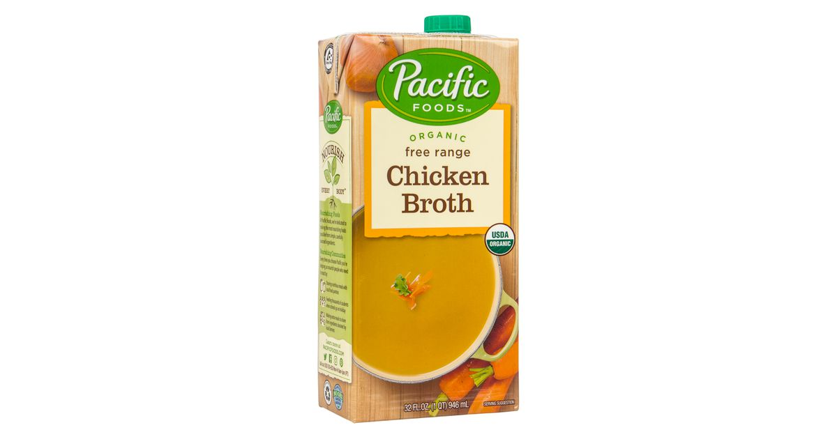 Pacific Foods Chicken Broth Organic Azure Standard