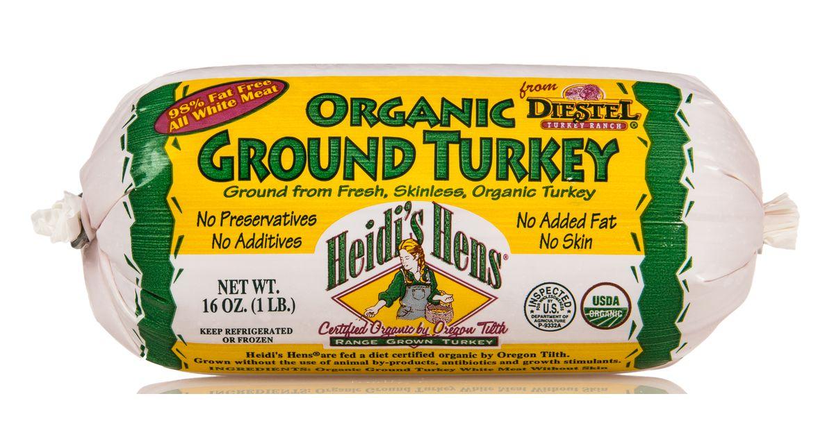 Diestel Turkey Ranch @@Turkey, White Meat Ground, Frozen, Organic