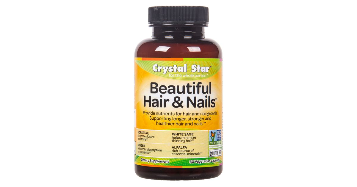 Crystal Star - Beautiful Hair & Nails - Azure Standard