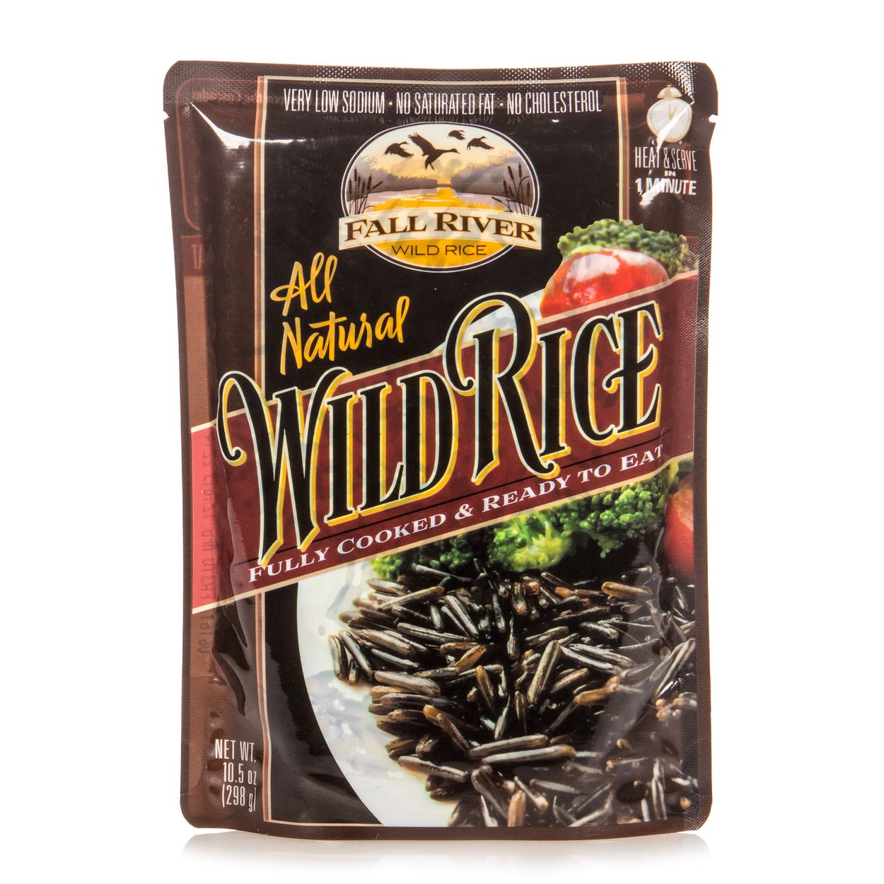 Fall River Wild Rice, Fully Cooked, Pouch - Azure Standard