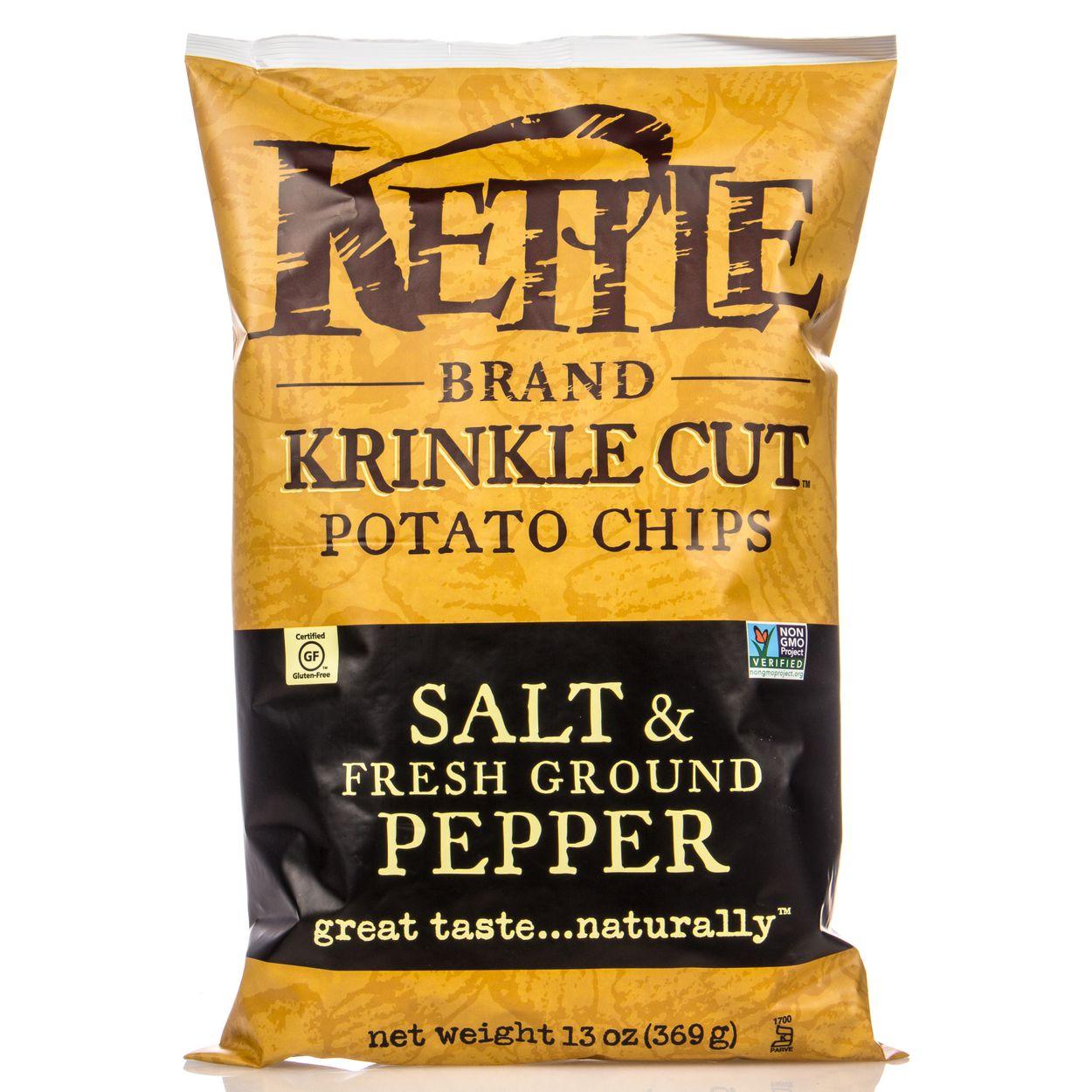 Kettle Brand - Potato Chips, Salt & Fresh Ground Pepper