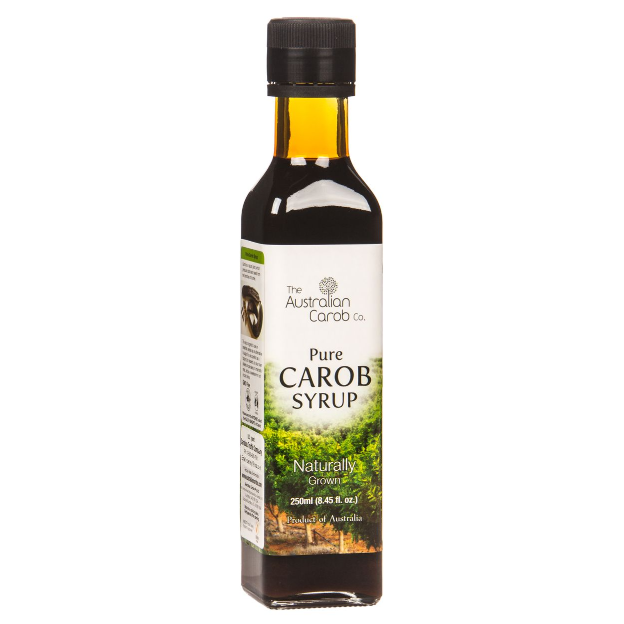 Pure Carob Syrup, Organic
