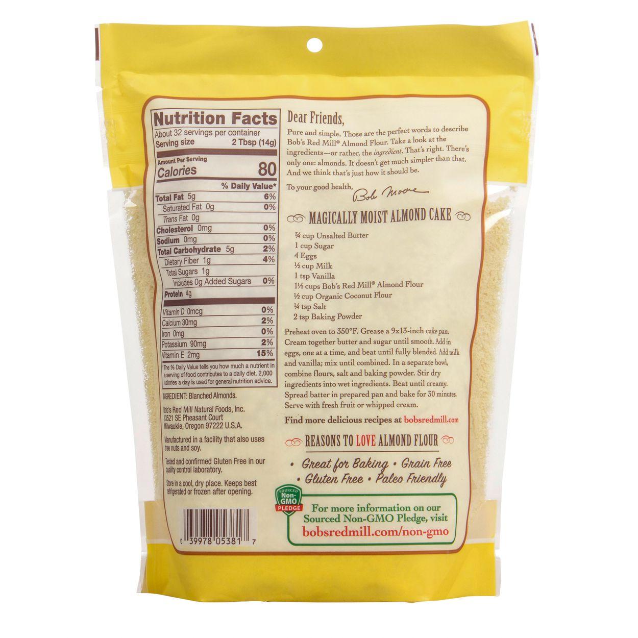 Bob S Red Mill Almond Meal Flour Azure Standard