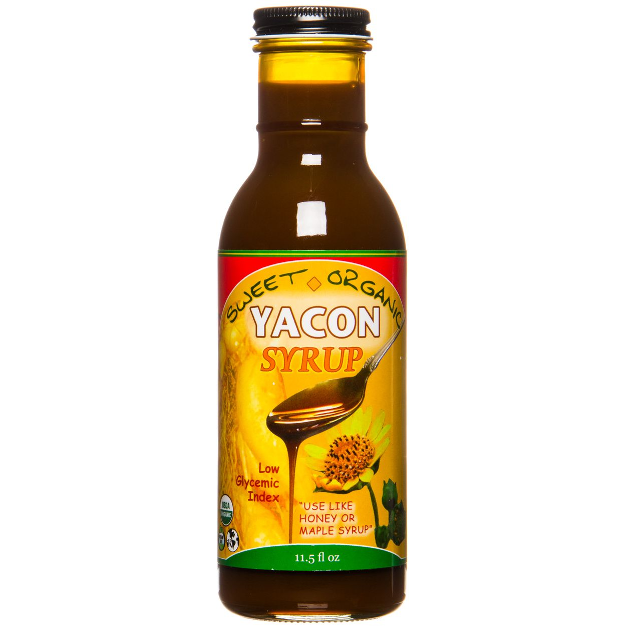 Amazon Therapeutic Laboratories Yacon Syrup 100 Organic