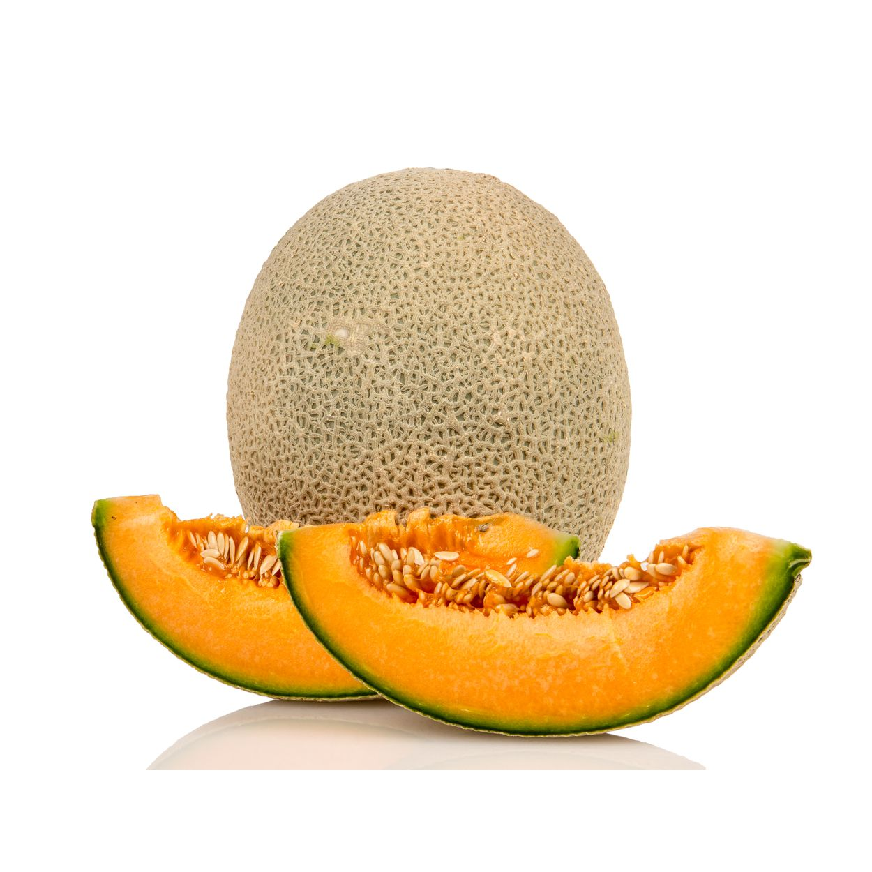 Azure Market Produce Melon Cantaloupe Organic Azure Standard Inside, they are juicy, sweet and yellow, becoming more yellow as they ripen. usd