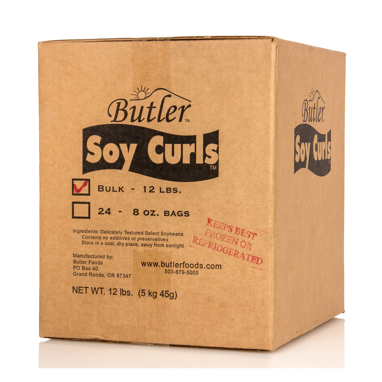 Butler Foods - Soy CURLS, Bulk, GMO