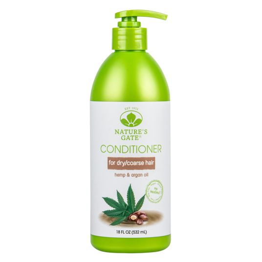 Nature S Gate Hemp And Argan Oil Dry And Coarse Hair