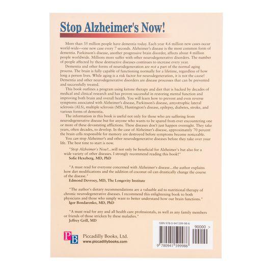 Books Stop Alzheimers Now 2nd Edition Azure Standard